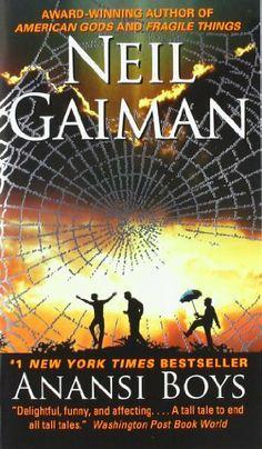 Anansi Boys by Neil Gaiman, http://www.amazon.com/dp/0060515198/ref=cm_sw_r_pi_dp_SUMgqb0G4S875