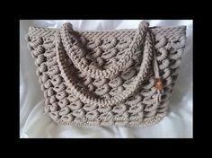 Borsa SABBIA Tutorial Passo passo - Crochet | Вязаные сумки. | Постила