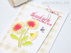 Project by Ashley Cannon Newel (Flower Favorites - April 2015) #AshleyCannonNewell #PaperSuite #PapertreyInk