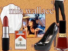 Mia Wallace for Halloween.