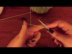 Cours de tricot: Monter des mailles - YouTube