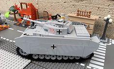 Modbrix 2461 - Bausteine Panzer IV Ausf. H, Panzermodell, 440 Teile, inkl. Lego© Wehrmacht Soldaten Brigamo http://www.amazon.de/dp/B00TPGAQ3Q/ref=cm_sw_r_pi_dp_A5bjvb001FRY7