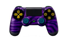 PS4Controller-PurpleZebra | Flickr - Photo Sharing! #PS4controller #PS4 #PlayStation4controller #customcontroller #moddedcontroller #dualshock4