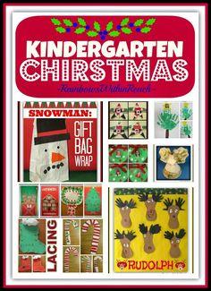 A Kindergarten Christmas: Seasonal Crafts