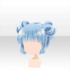Anime hair with buns