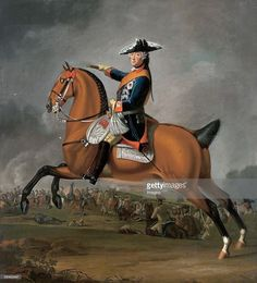 Frederick at Rossbach. Frederick The Great, Frederick William, Prussia, 18th Century, Battle, Germany, America, History, Painting
