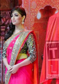Yami Gautam Red Bollywood Saree | Veeshack Shop