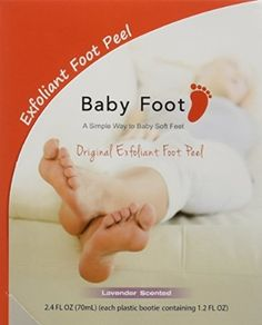 Baby Foot Original Deep Exfoliation for Feet Peel - Lavender Scented - 2 Pack (4 Booties - 1.2 FL OZ Each) A Simple Way to Baby Soft Feet