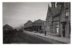 0099 Holmfirth Station circa 1915.