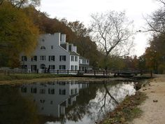 The historic Great Falls Tavern, along the C & O Canal National Park - Potomac, Maryland. Mule-pulled canal boat ride. Great hike- Billy Goat trail.  Great place to bike or hike along the tow path and views of the water falls. Lunch/Dinner- Old Angler's Inn.