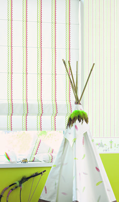 A tender range imbued with childish reverie. A dainty, childlike collection of #fabrics that will appeal to all #young ones.The delightful collection features a starry galaxy, an incredible #ladybird, a comic #owl, and co-ordinating #stripes, all perfect to create a stunning look for any #child's #room. Fabric from Arc En Ciel collection.