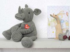 Ravelry: Amigurumi Rhino pattern by Stephanie Davies