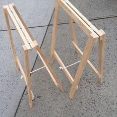 Image of Soho Trestle Table #woodworkingbench