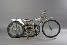 c.1977 Weslake Speedway Racing Motorcycle