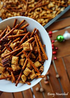 Healthy Holiday Nuts n' Bolts