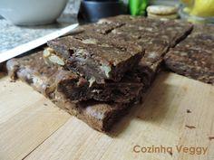 Cozinha Veggy: Brownies de pêra e chocolate