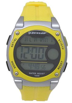 Price:$23.00 #watches Dunlop DUN-182-G10, This Dunlop timepiece is designed for the sporty man. It's size, ruggedness and multiple functions make it a great value. New Coming, Gray Color, Color Yellow, Casio Watch, Digital Watch, Designing Women, Watches For Men, Branding Design, Sporty