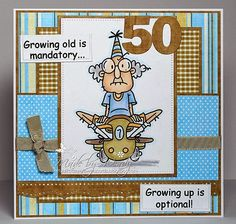 Bugaboo Stamps - Gus Birthday - Optional