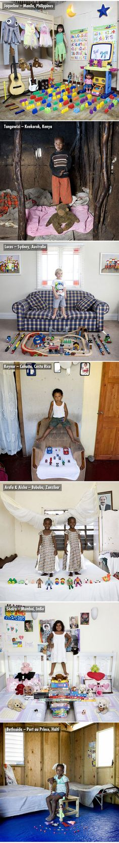Children From Around the World with their Most Prized Possessions ...2