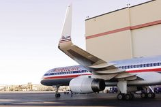 American Airlines B757 Winglets