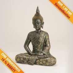 Mit BUDDHA ein wenig #Weihnachten2016 feiern! +++ Sollten Sie ein wenig Freude und Glück verteilen wollen, ist dieser sitzende #Buddha das ideal #Weihnachtsgeschenk dafür.