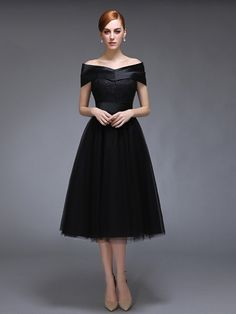 A-Line Off-the-Shoulder Lace Cap Sleeves Evening Dress & fairy Evening Dresses