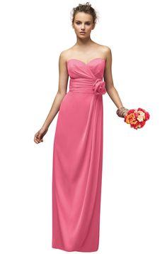 Lela Rose Lx150 Bridesmaid Dress | Weddington Way in Punch// but a shorter version