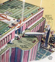 Airship Dock Concept Art