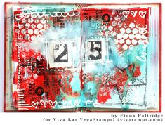 Viva Las VegaStamps!: A Little Christmas Journaling With Fiona