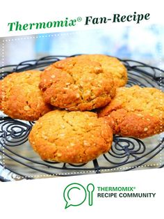 Anzac Biscuits by Thermomix Diva. A Thermomix <sup>®</sup> recipe in the category Baking - sweet on www.recipecommunity.com.au, the Thermomix <sup>®</sup> Community.