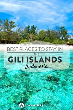 Gili Islands Indonesia | Looking to go to the Gili Islands? Here are a few of our recommended places to stay in Gili Trawangan, Air, and Meno