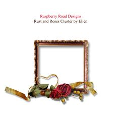 A beautiful cluster freebie from the Rust And Roses collection from Raspberry Road.
