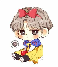 Cute Chibi Bts Members P S That S Too Cute Bts Pinterest Bts