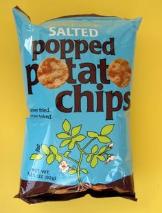 The thing I love about Trader Joe's is that you never know what you are going to find. On a recent trip I found three bags of chips that ha. Trader Joes Vegan, Trader Joe's, Whole Food Recipes, Vegan Recipes, Snack Recipes, Discontinued Food, Popped Chips, Vegan Chips, Fried Chips
