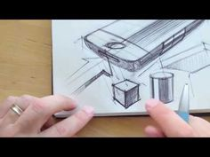 How to draw Product Design Sketching. - YouTube