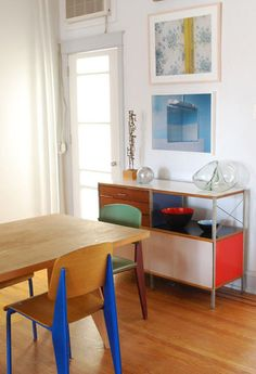 This house was just featured on designsponge. Everything about it is beautiful but particularly that sideboard.