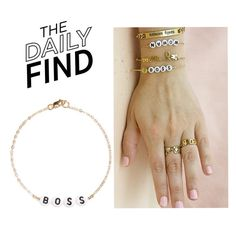 """Daily Find: Ryan Porter Bracelet"" by polyvore-editorial ❤ liked on Polyvore featuring DailyFind"