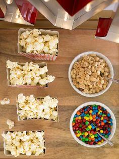 Weekly Family Movie Night - Eats and Treats with @kimbyers #popcorn #movienight