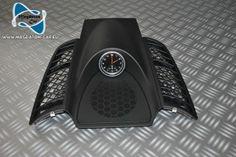 Neu Original Verkleidung Ramen Schwarz Abdeckung   Uhr fur Porsche Cayenne 958 2011-2013 7P5919204C