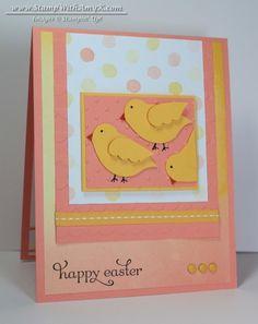 Apr 8 Stamp With Amy K: Delightful Dozen Easter Chicks Delightful Dozen, Bird Builder