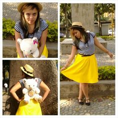 DIY. Skirt and Stuffed Animal Backpack. Annika Victoria (http://www.pineneedlecollective.com/) Inspiration <3