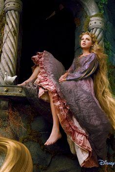 Taylor Swift is Rapunzel... really!