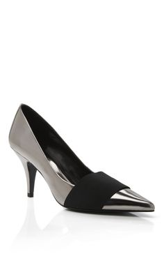 Phillip Lim-pre fall 2013  Few shoes make me go oh wow...this did! So elegant and classy but with an edge.