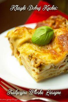 Klasyczna lasagne - lazania