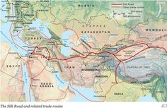 Website for Silk Road Project - has maps and a multi-year educational program for middle schoolers