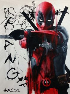 Deadpool poster that I want.
