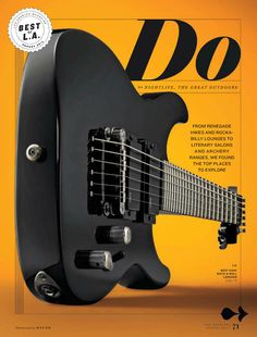 Los Angeles Magazine cover | #editorial