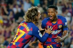 Ansu Fati Makes Better Start To Barca Career Than Messi With First Camp Nou Goal Antonio Brown, Julian Edelman, Antoine Griezmann, Camp Nou, Neymar, Valencia, Modern Ghana, Football, Antara