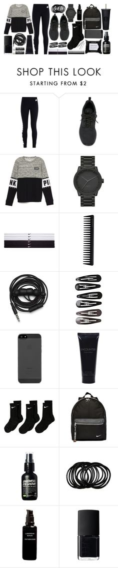 """""""Untitled #62"""" by kazuichi ❤ liked on Polyvore featuring NIKE, LEFF Amsterdam, GHD, Urbanears, Clips, Bulgari, I'm Fabulous, NARS Cosmetics, Inglot and Chapstick"""