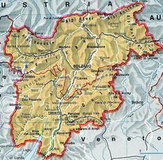 Cartina Muta Fisica E Politica Del Piemonte Da Stampare Didattica